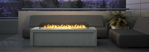 outdoor gas fireplace burner plateau pto30 regency