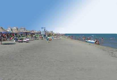 vacanza margherita di savoia le spiagge pi 249 di margherita di savoia sulla mappa