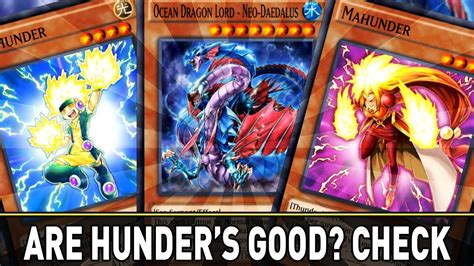 hunder deck hunder family new card trader cards yugioh