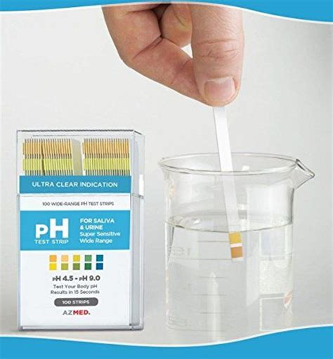 Sensitif Test Urine 100ct reliable modern ph indicator test strips urine and