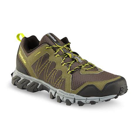 Handgrip Reebok Reebok S Trail Grip Olive Black Gray Running Shoe