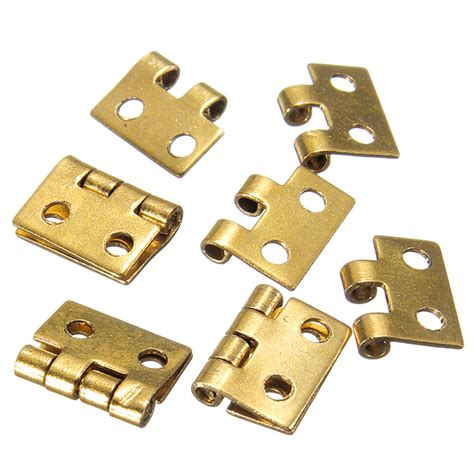 doll house hinges 5pcs mini metal hinges for 1 12 dollhouse miniature furniture alex nld