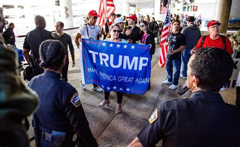arrests   huntington beach pro trump rally