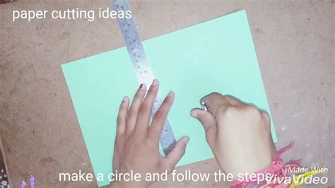 Paper Cutting And Folding - paper flower envelope paper folding and cutting tricks