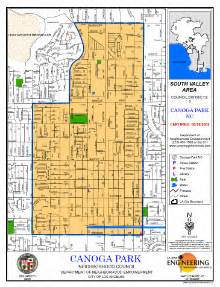 canoga park california map canoga park neighborhood council