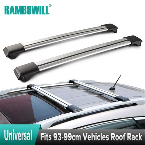 Bars On Top Of Car by 2x Universal Car Roof Rack Cross Bars Top Roof Box Luggage