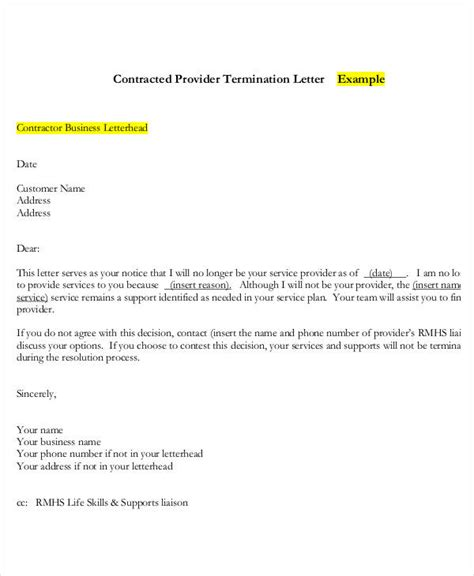 sle cancellation letter merchant account termination letter for services sle 28 images sle