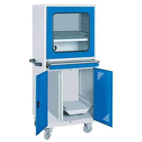 armoire pour ordinateur armoire informatique mobile pour tour d ordinateur