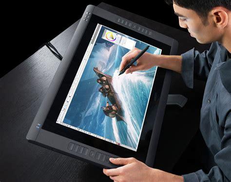 wacom cintiq 22hd touch intuitive touch screen rotary pencil digital av magazine
