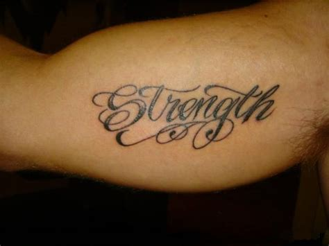 tattoo words for men 35 unique word tattoos for