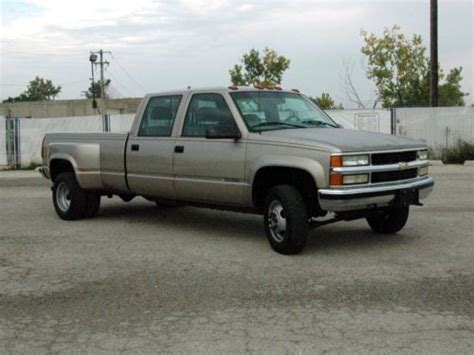 how cars run 2002 chevrolet silverado 3500 parking system buy used 2000 chevrolet silverado k3500 crew cab 4x4 dually low miles clean history in