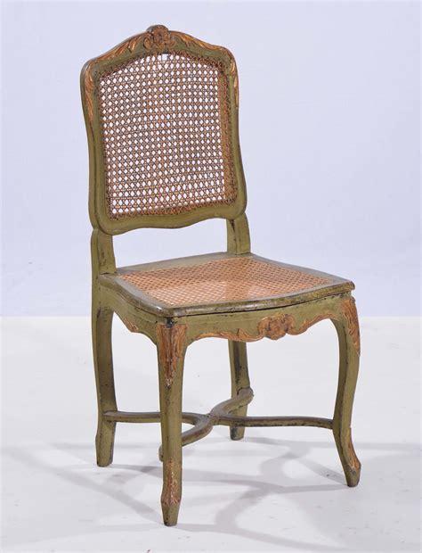 sedie luigi xv sedia luigi xv laccata antiquariato e dipinti antichi