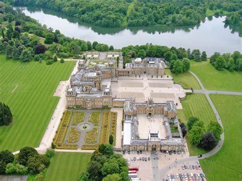 Castle Howard Floor Plan blenheim palace 1705 1722 woodstock england