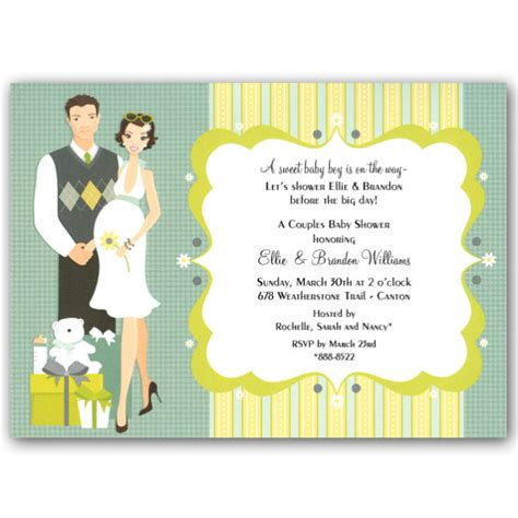 Delightful Cancer Christmas Cards #7: Happy-Couple-Blue-Baby-Shower-Invitations---Clearance-p-109-IN-152-z.jpg