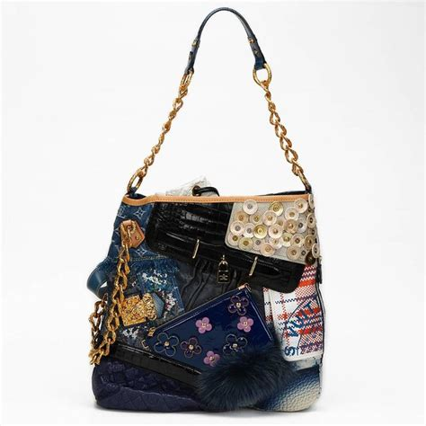 Louis Vuitton Patchwork - 2007 louis vuitton tribute collectors patchwork bag and