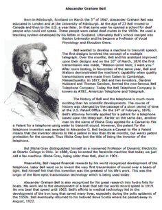 alexander graham bell biography worksheet 1000 images about inventors inventions on pinterest