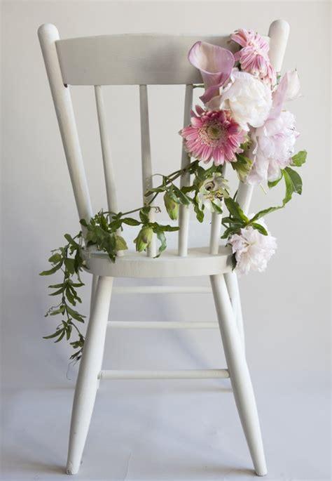 diy wedding chair ideas how to make a chair garland rustic wedding chic