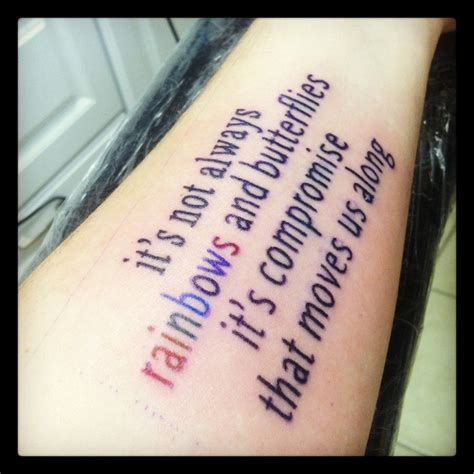 song lyric tattoos my new maroon 5 song lyrics let me entertain