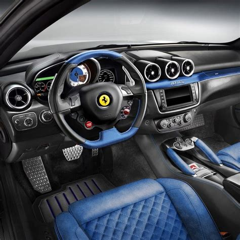 ferrari custom interior ferrari custom blue interior something blu pinterest