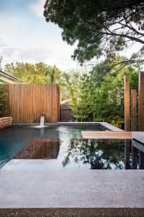 modern backyards family members entertaining modern backyard style for