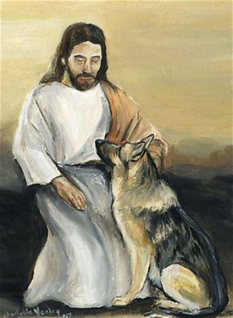 jesus in dogs jesus with a germanshepherd great looking german shepherds