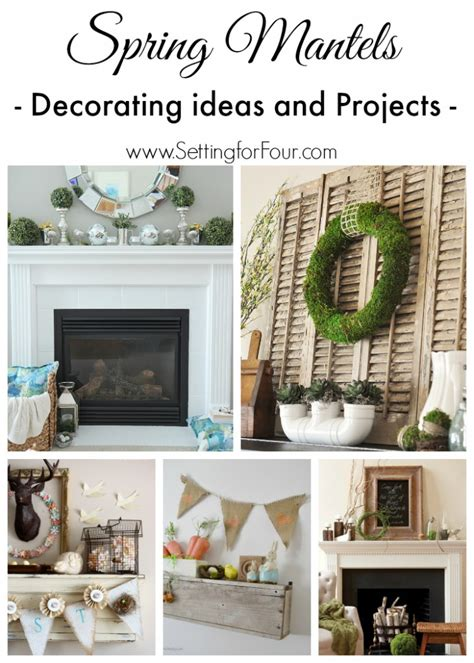 winter mantel decorating ideas setting for four spring mantel ideas decor and projects setting for four