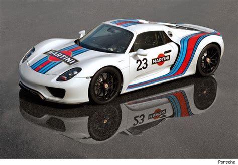 porsche racing colors porsche 918 spyder in martini racing colours