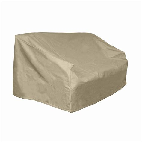 hearth garden polyester patio loveseat and bench cover