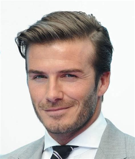 david beckham best hairstyle the many hairstyles of david beckham