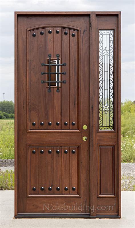 Teak Exterior Doors Teak Front Door Solemio Teak Front Door