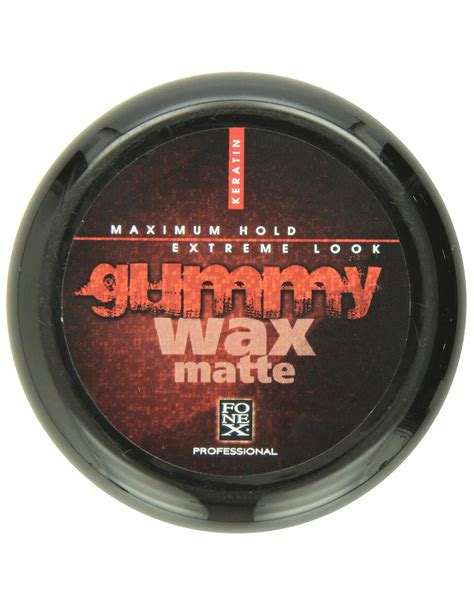 fonex wax matte look barber supplies fonex gummy wax matte 4 7oz