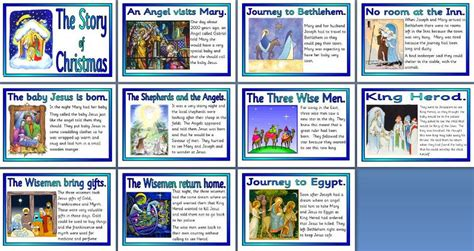 new year story resources story nativity printable merry