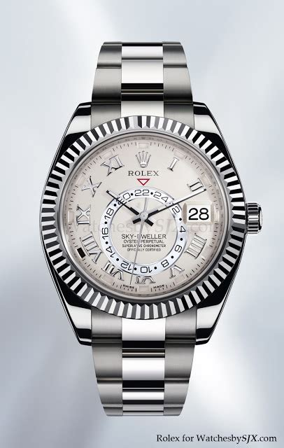 Rolex Gmt Silver Gold Rbgn 03 baselworld 2012 introducing the rolex sky dweller the