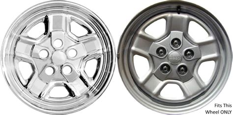 jeep patriot chrome rims jeep patriot chrome wheel skins hubcaps simulators