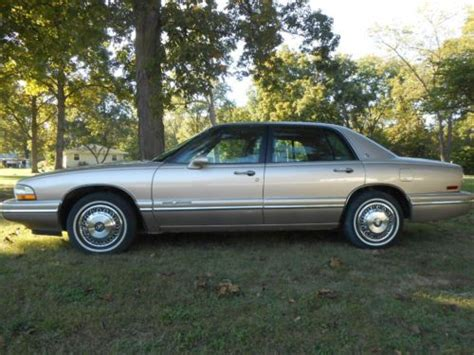 automobile air conditioning service 1995 buick park avenue on board diagnostic system find used 1995 buick park avenue 4 door dynaride in louisville illinois united states