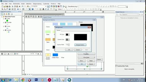 layout toolbar arcgis 10 map layout using arcgis 10 2 arcgis lessons youtube