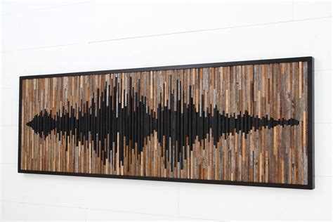 design art wood wall art design ideas wave sound abstract wood wall art