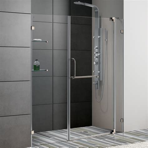 24 inch shower door a 24 inch shower door made from high quality brushed