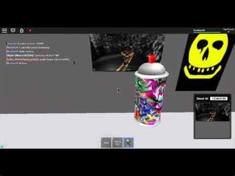 spray paint decal roblox roblox spray paint decal id s part 1