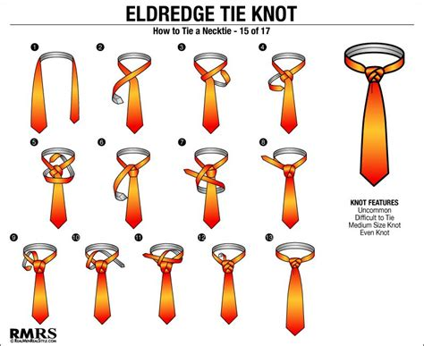 How To Tie Knots - how to tie a tie the eldredge knot is this necktie