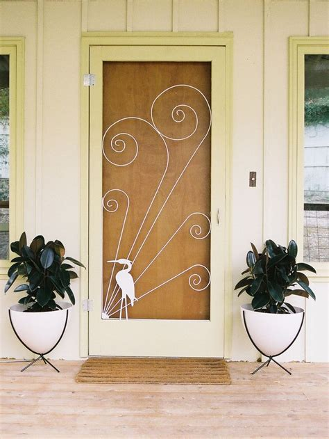 41 Best Images About Vintage Screen Doors On Pinterest Front Door Screen Insert