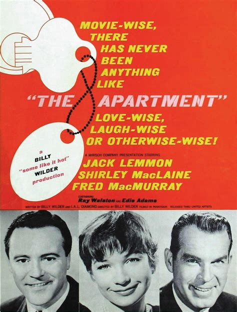appartment movie the apartment 1960 kennelco film diary