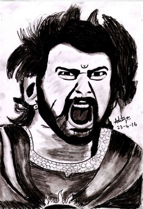 Bahubali 1 Sketches by Bahubali Pencil Sketches Sketches And