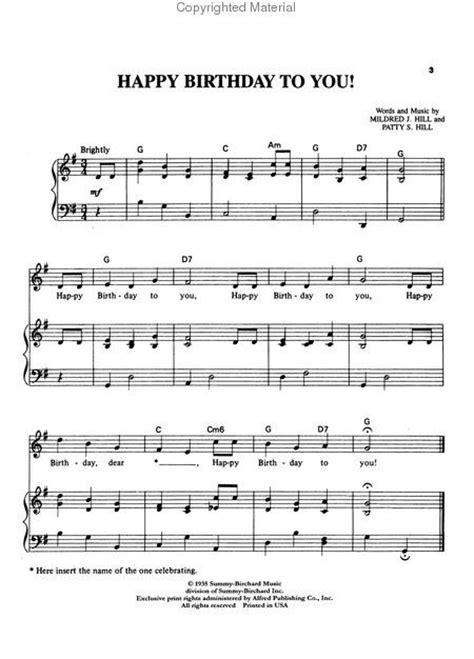 printable sheet music happy birthday free download piano sheet music happy birthday i pdf