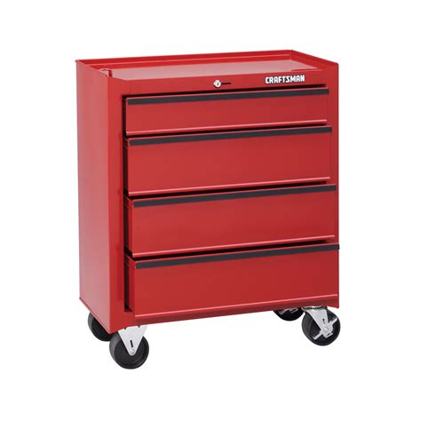 4 Drawer Tool Chest by Craftsman 59557 26 1 2 Quot 4 Drawer Roll Away Homeowner