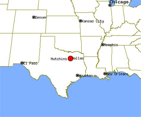 hutchins texas map hutchins texas map