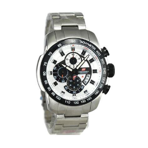 harga chronoforce jam tangan pria 5257 silver hitam