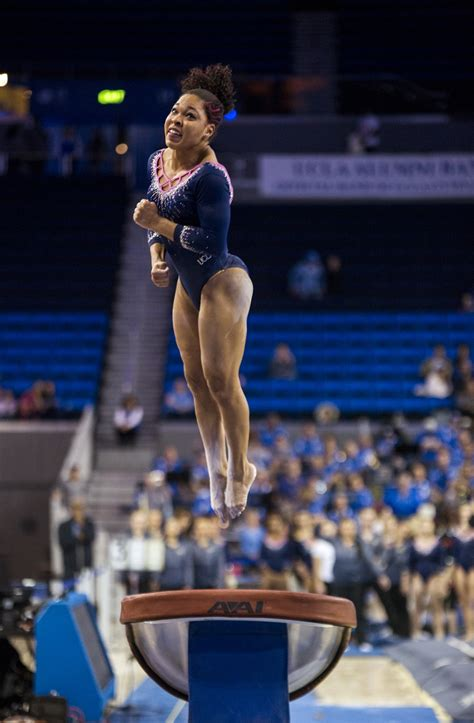 Or Gymnastics Ucla Gymnastics Defeats Oregon State 197 475 196 225