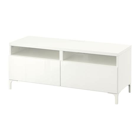 besta drawers best 197 tv unit with drawers white selsviken high gloss