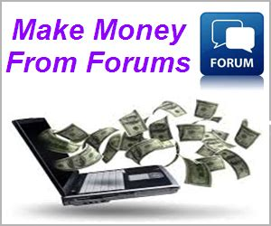 How To Make Money Online Forum - how to make money from online forums webnots
